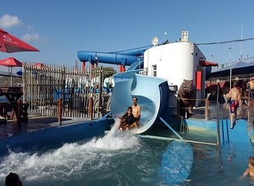 Muizenberg Water Slides in Cape Town